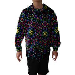 Fractal Texture Hooded Wind Breaker (Kids)