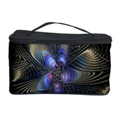 Fractal Blue Abstract Fractal Art Cosmetic Storage Case