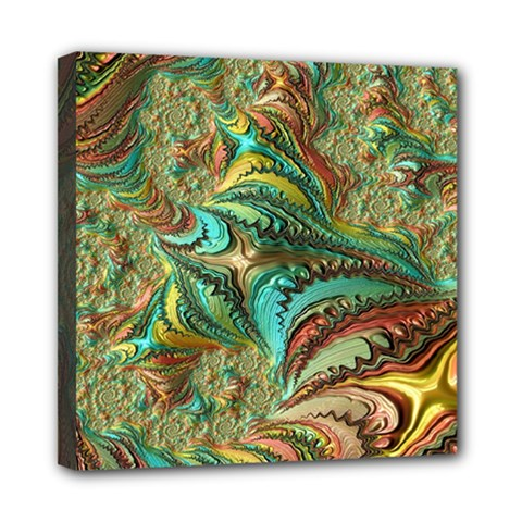 Fractal Artwork Pattern Digital Mini Canvas 8  x 8