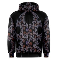 Fractal Complexity Geometric Men s Zipper Hoodie
