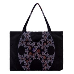 Fractal Complexity Geometric Medium Tote Bag