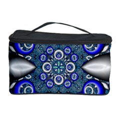 Fractal Cathedral Pattern Mosaic Cosmetic Storage Case