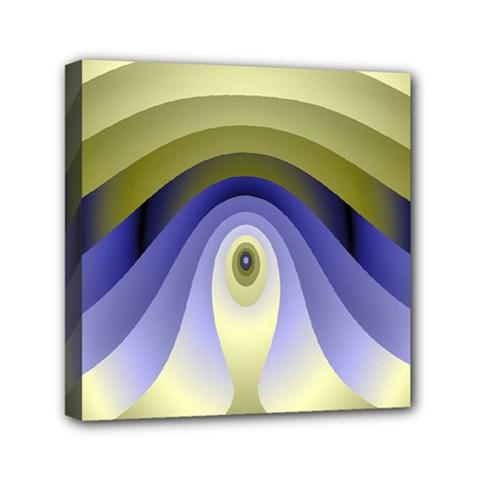 Fractal Eye Fantasy Digital Mini Canvas 6  x 6
