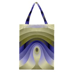 Fractal Eye Fantasy Digital Classic Tote Bag