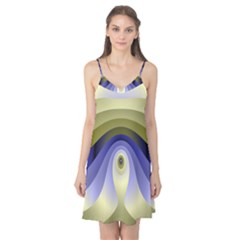 Fractal Eye Fantasy Digital Camis Nightgown