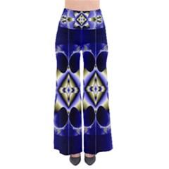 Fractal Fantasy Blue Beauty Pants