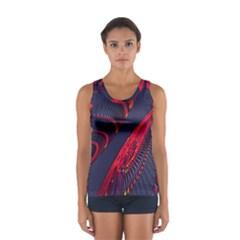 Fractal Art Digital Art Women s Sport Tank Top