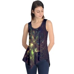 Fractal Flame Light Energy Sleeveless Tunic