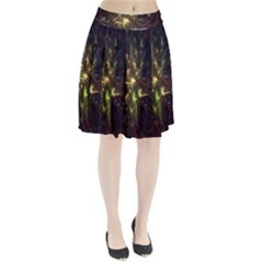 Fractal Flame Light Energy Pleated Skirt