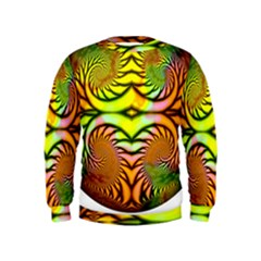 Fractals Ball About Abstract Kids  Sweatshirt