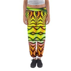 Fractals Ball About Abstract Women s Jogger Sweatpants