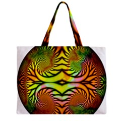 Fractals Ball About Abstract Zipper Mini Tote Bag