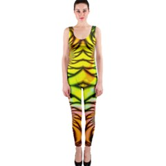 Fractals Ball About Abstract Onepiece Catsuit