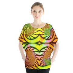 Fractals Ball About Abstract Blouse