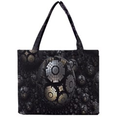 Fractal Sphere Steel 3d Structures Mini Tote Bag