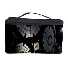Fractal Sphere Steel 3d Structures Cosmetic Storage Case