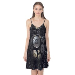 Fractal Sphere Steel 3d Structures Camis Nightgown