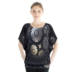 Fractal Sphere Steel 3d Structures Blouse