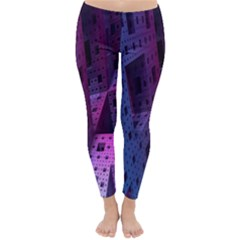 Fractals Geometry Graphic Classic Winter Leggings