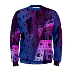Fractals Geometry Graphic Men s Sweatshirt