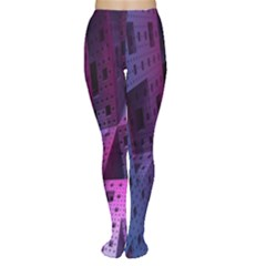 Fractals Geometry Graphic Women s Tights