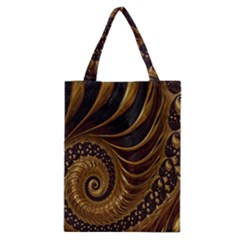 Fractal Spiral Endless Mathematics Classic Tote Bag