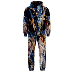 Frost Leaves Winter Park Morning Hooded Jumpsuit (Men)