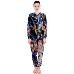 Frost Leaves Winter Park Morning OnePiece Jumpsuit (Ladies)