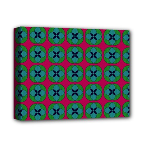Geometric Patterns Deluxe Canvas 14  x 11