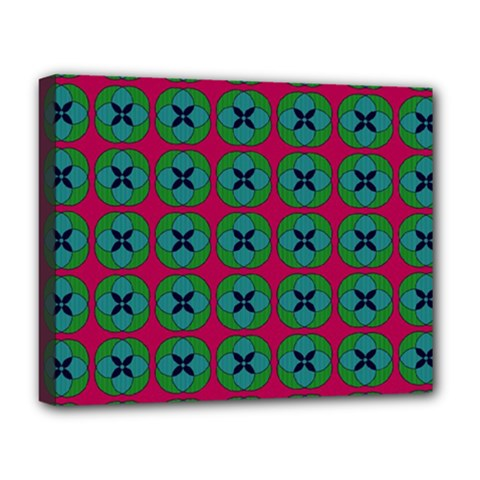Geometric Patterns Deluxe Canvas 20  x 16