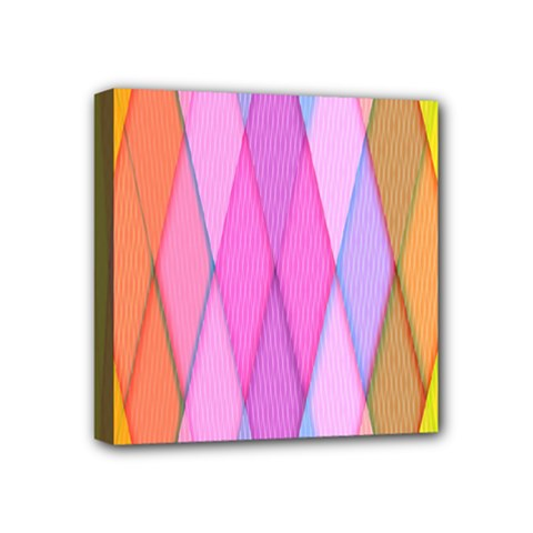 Graphics Colorful Color Wallpaper Mini Canvas 4  x 4