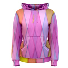 Graphics Colorful Color Wallpaper Women s Pullover Hoodie