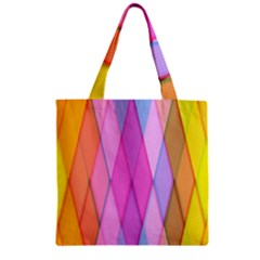 Graphics Colorful Color Wallpaper Zipper Grocery Tote Bag