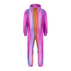 Graphics Colorful Color Wallpaper Hooded Jumpsuit (Kids)
