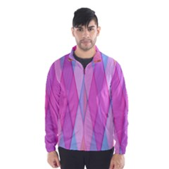 Graphics Colorful Color Wallpaper Wind Breaker (men)