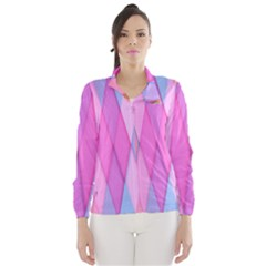 Graphics Colorful Color Wallpaper Wind Breaker (Women)