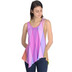 Graphics Colorful Color Wallpaper Sleeveless Tunic