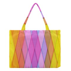 Graphics Colorful Color Wallpaper Medium Tote Bag