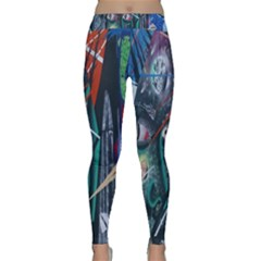 Graffiti Art Urban Design Paint Classic Yoga Leggings