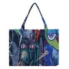 Graffiti Art Urban Design Paint Medium Tote Bag