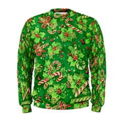Green Holly Men s Sweatshirt