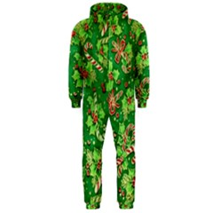 Green Holly Hooded Jumpsuit (Men)