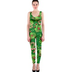 Green Holly Onepiece Catsuit