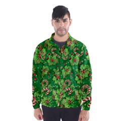 Green Holly Wind Breaker (men)