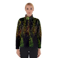 Green Leaves Psychedelic Paint Winterwear