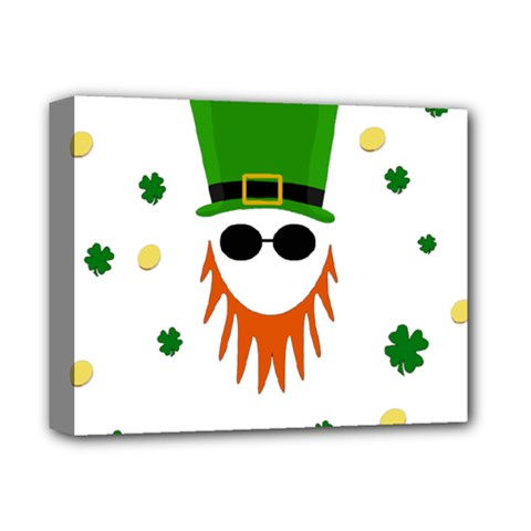 St  Patrick s Day Deluxe Canvas 14  X 11
