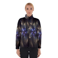 Fractal Blue Abstract Fractal Art Winterwear