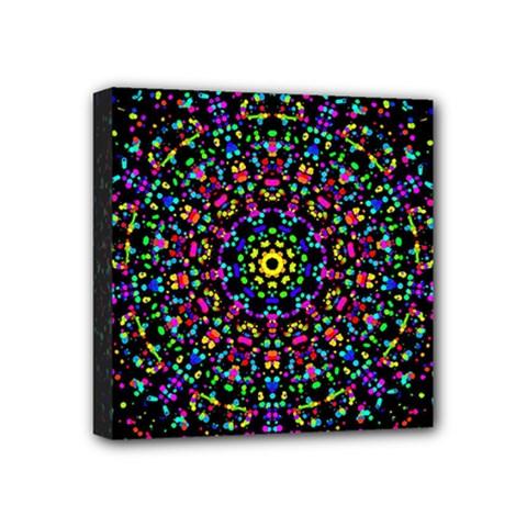 Fractal Texture Mini Canvas 4  x 4