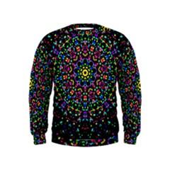 Fractal Texture Kids  Sweatshirt