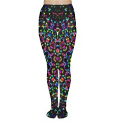 Fractal Texture Women s Tights